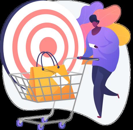 Shopping List Illustration
