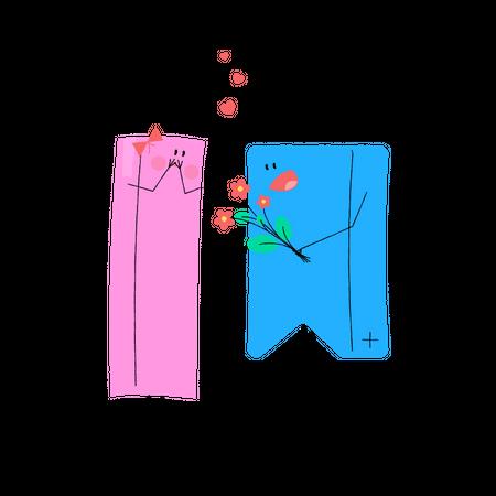 Shopping Wishlist Illustration