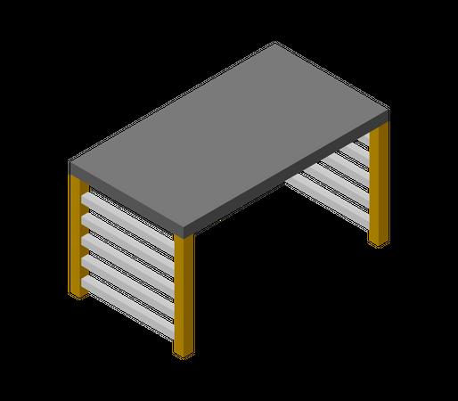 Side table Illustration