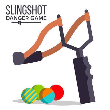 Slingshot Vector Illustration