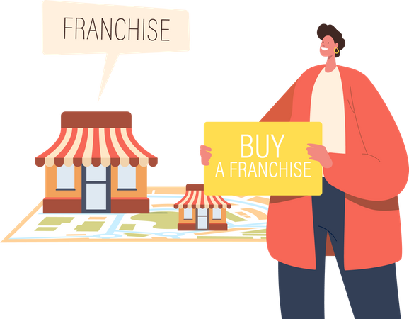 Small and Medium Enterprise Expansion Illustration