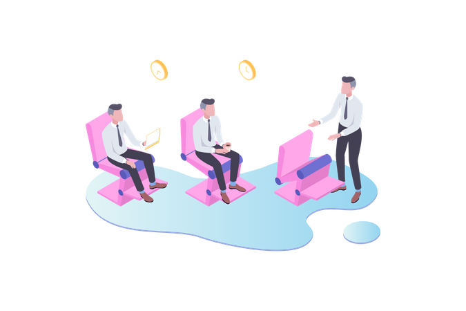 Smart Chair Illustration