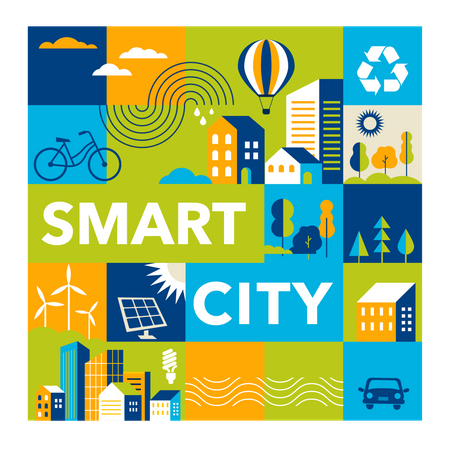 Smart city Illustration