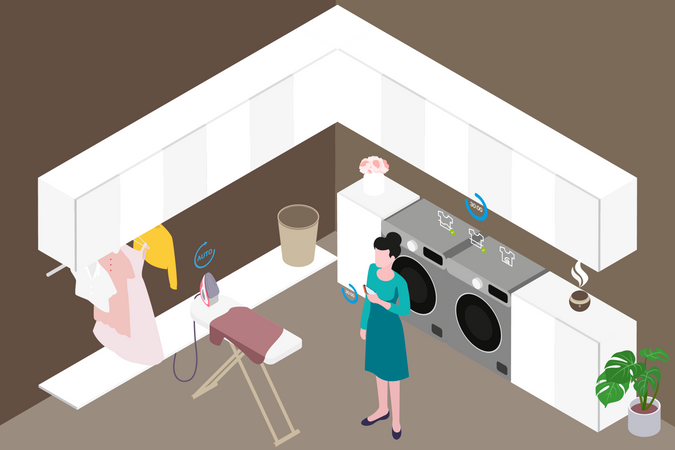 Smart Clean Illustration