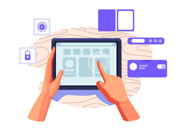 Smart device Illustration