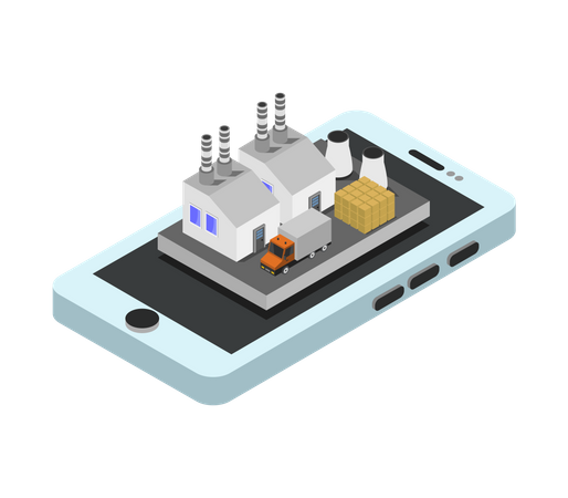 Smart Factory Illustration