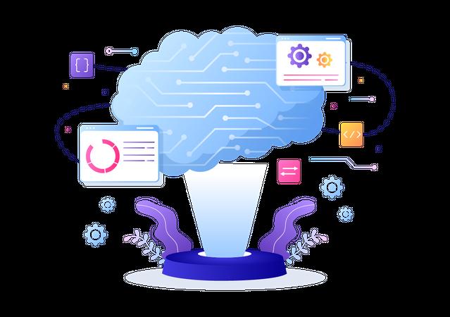 Smart Technology Illustration