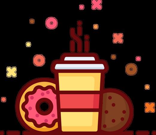 Snacks Illustration