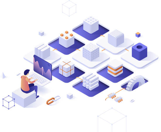 Software and hardware solutions for Bitcoin mining Illustration