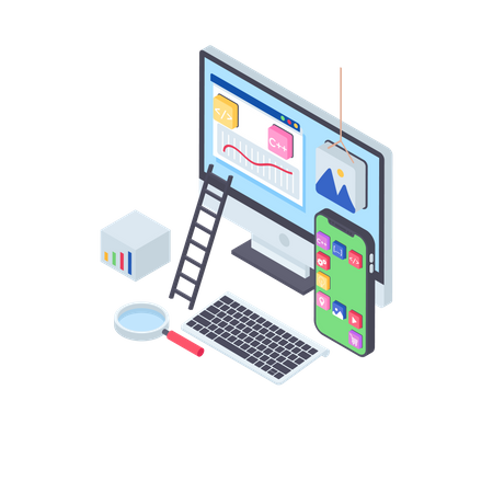 Software Development Illustration