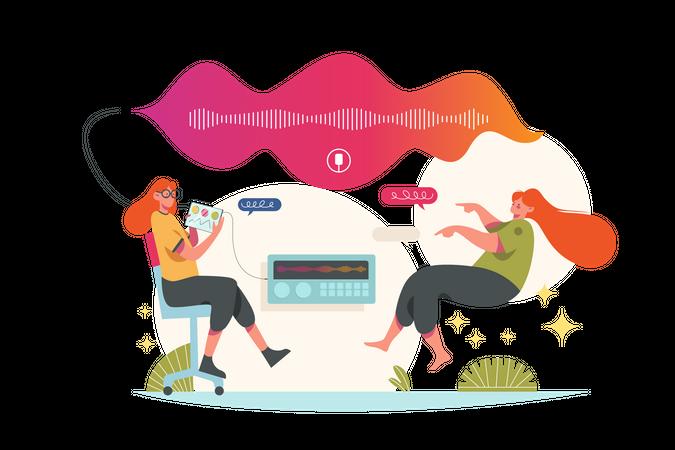 Speech Recognition Illustration