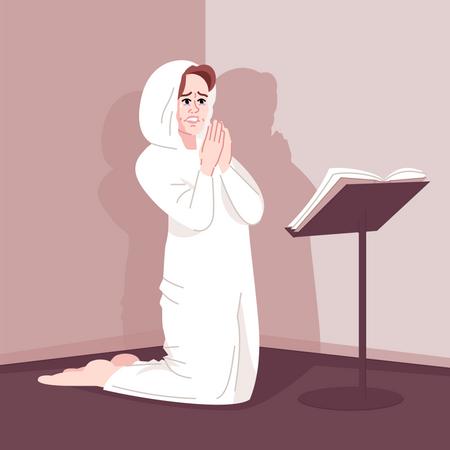 Spiritual obsession Illustration