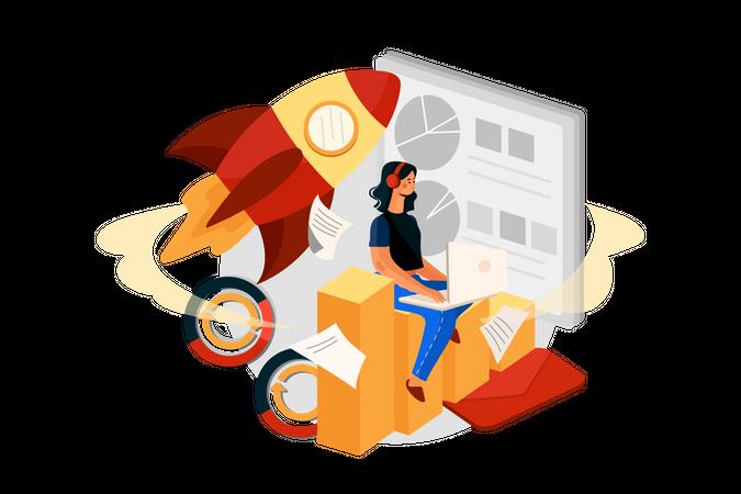 Startup Illustration