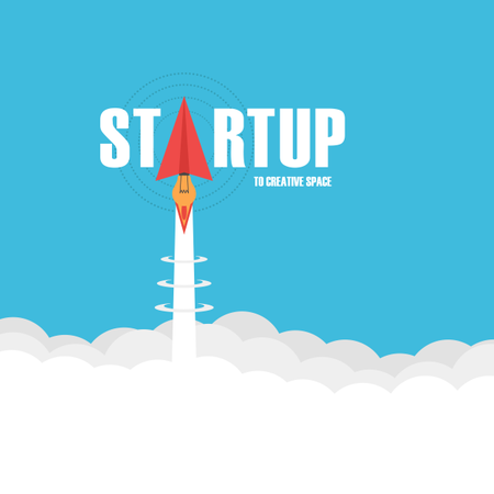 Startup Business Concept Illustration