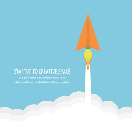 Startup Concept Illustration