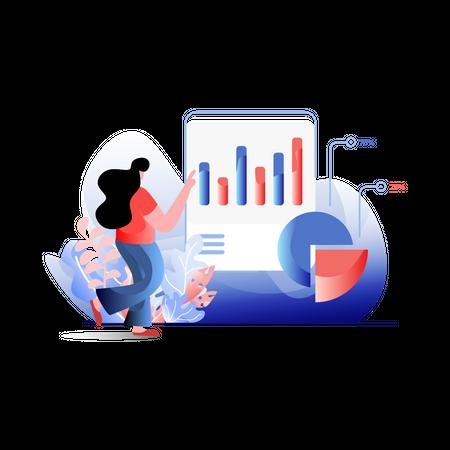 Statistic Analysis Illustration