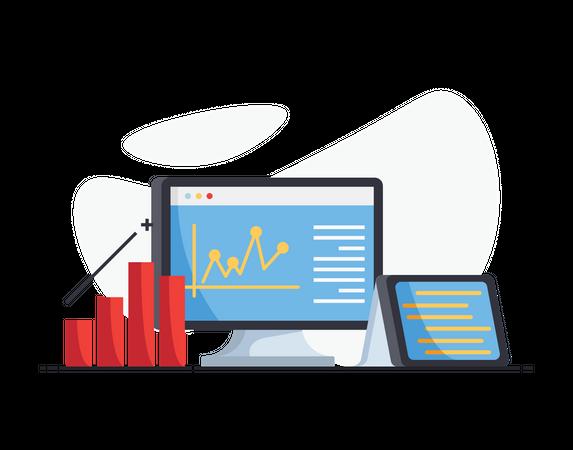 Statistical analysis Illustration