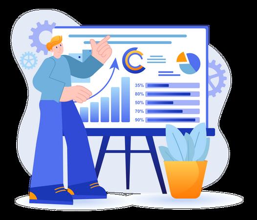 Statistical Data Analysis Illustration