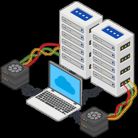 Storage cooling System Illustration