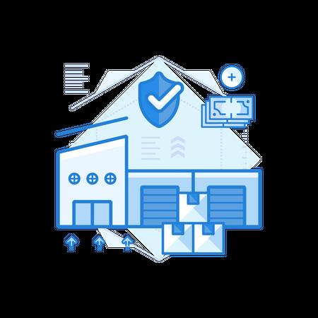 Storage Insurance Illustration