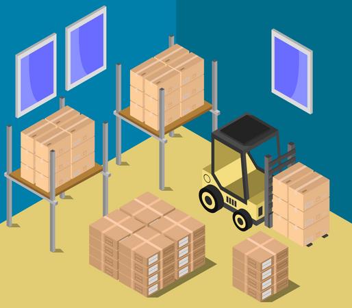 Storage room Illustration