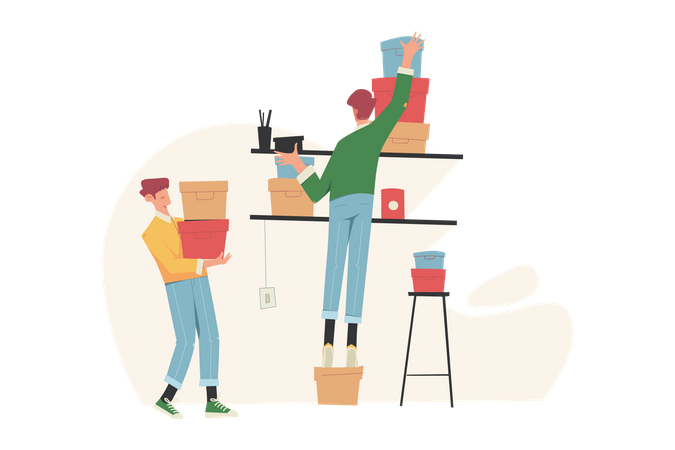 Storage space Illustration
