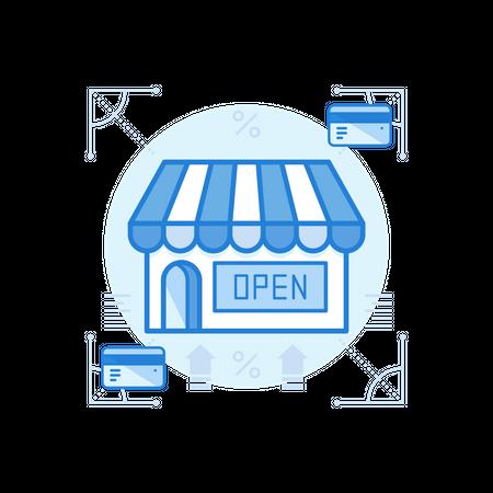 Store Illustration