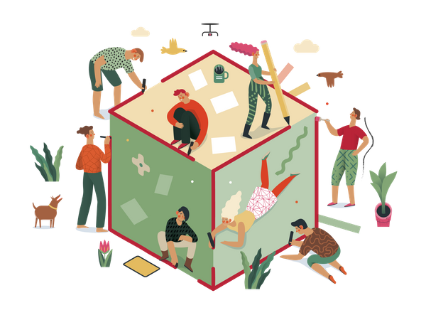 Strategic Partnership Illustration