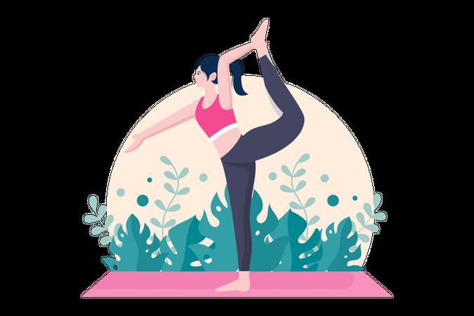 Stretching Exercise Illustration