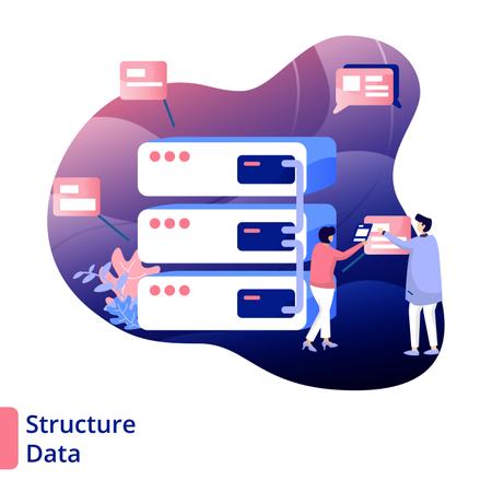 Structure Data Illustration