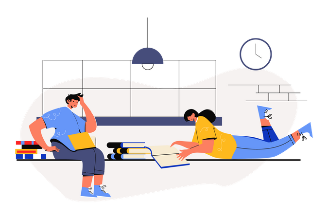 Study Discussion Illustration