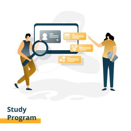Study Program Illustration