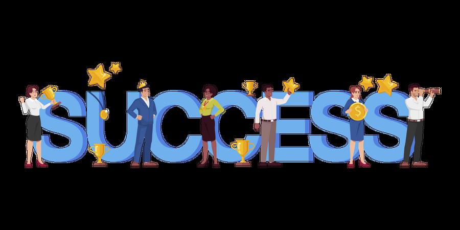 Success Illustration