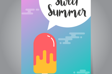 Summer Banner Illustration Pack