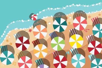 Beach Illustrations Illustration Pack