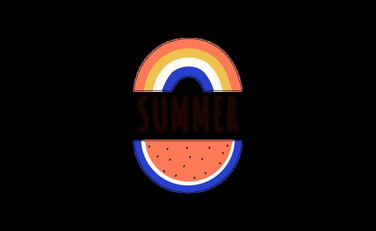 Summer sale Illustration