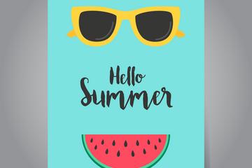 Summer Posters Illustration Pack