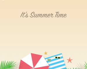 Summer Time Illustration Pack