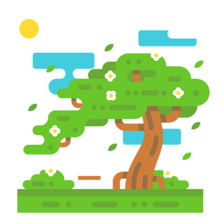 Sunny day Illustration