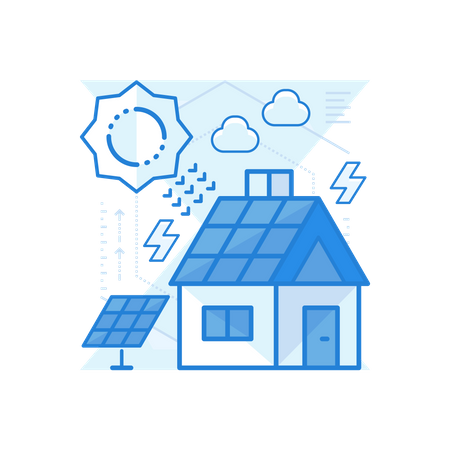 Sustainable Energy Illustration