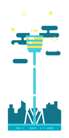 Sydney Tower Illustration