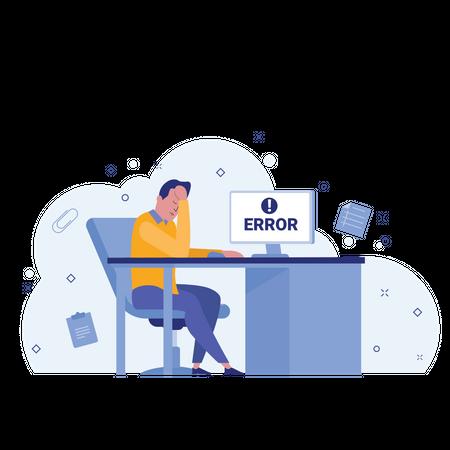 System error Illustration