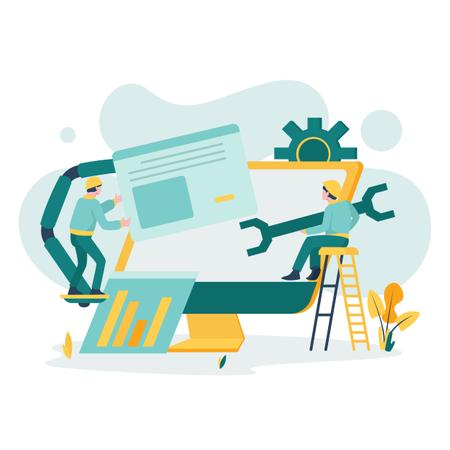 System Maintenance Illustration