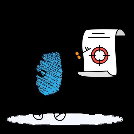 Target Key Illustration