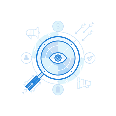 Targeting User Illustration