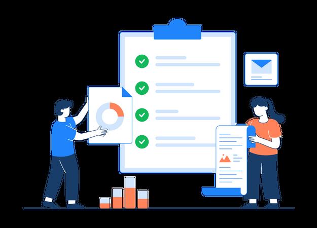 Task List Illustration