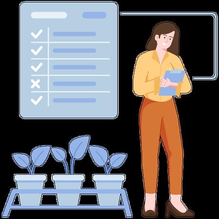 Task management Illustration