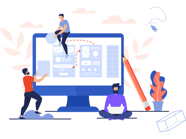 Task Process Illustration