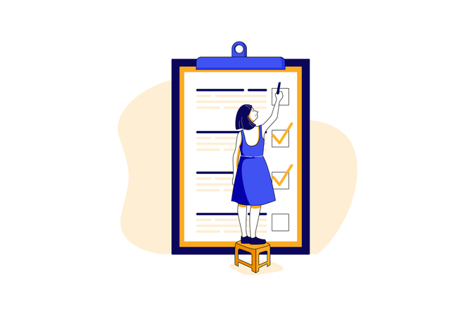 Tasklist Illustration