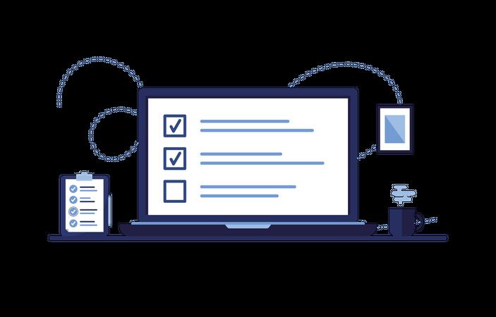 Tasklists Illustration